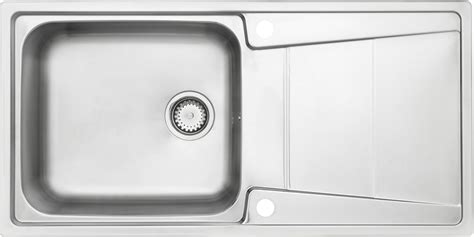 cooke lewis passo  bowl polished stainless steel sink