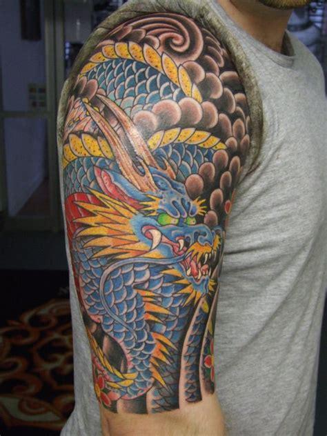 japanese  sleeve tattoo japan dragon sleeve tattoos tattoos japanese dragon tattoos