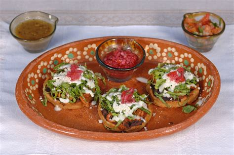 Sopes Mexicanos! Delicious Stuffed
