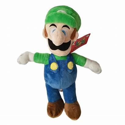 Mario Plush Luigi Super Stuff