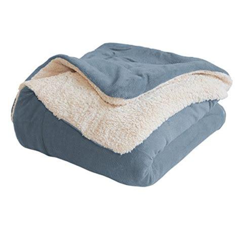 light blue throw blanket soft reversible light blue sherpa blanket by luxor linens