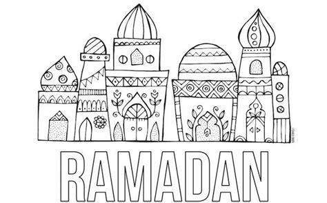 Kleurplaat Eid by Ramadan Free Printable Coloring Page Ramadan Eid Ideas