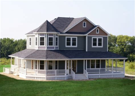 country house with wrap around porch country exterior traditional exterior