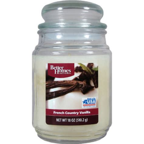 better homes and gardens candles better homes and gardens 18oz smoky gray mist candle