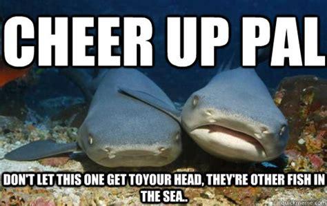 Fish In The Sea Meme - on break funny cheer up meme 22 funniest cheer up memes random memes memes