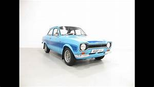 A Genuine Avo Mk1 Ford Escort Rs2000 Presented In
