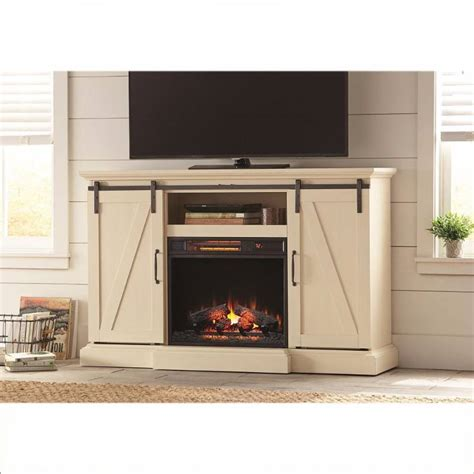 chestnut hill   tv stand electric fireplace