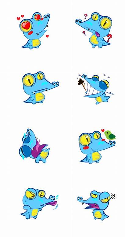 Zalo Sticker Emoticon Animated Behance Creative Character
