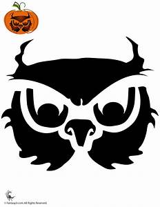 Pumpkin Stencils for Halloween Owl Pumpkin Stencil ...