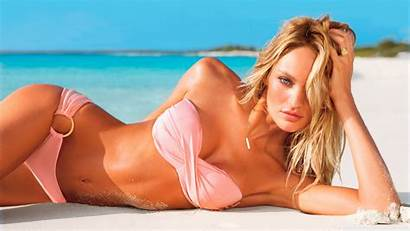 Candice Swanepoel Secret Swimsuit Victoria Victorias Desktop