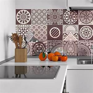 Stickers Carreaux De Ciment : 15 stickers carreaux de ciment mendoza salle de bain et ~ Melissatoandfro.com Idées de Décoration