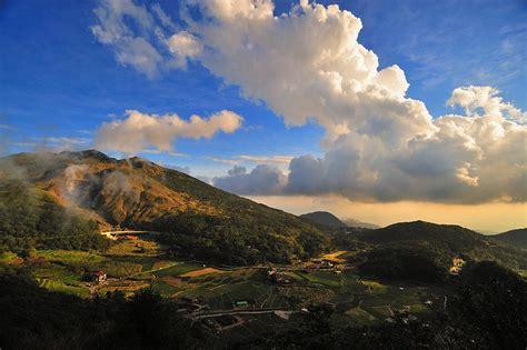 photo sky cloud taiwan mountain  image