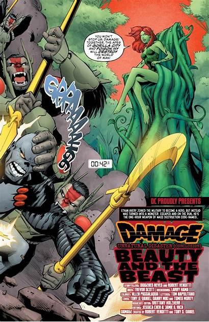 Damage Dc Comics Gorilla
