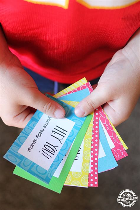 printable compliment cards   peoples day brighter