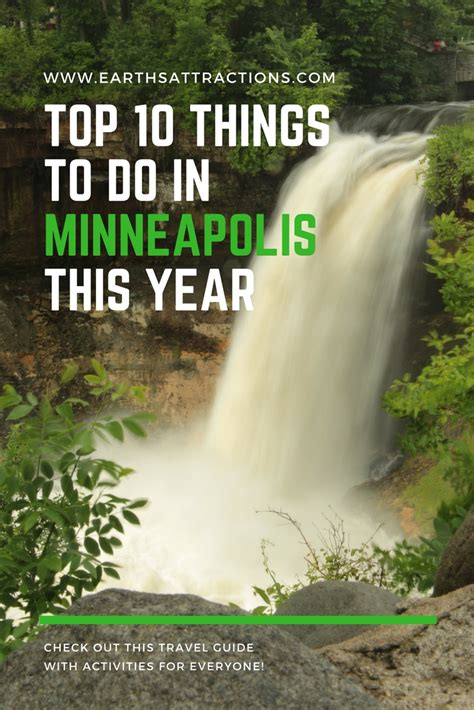 The Top 10 Things To Do In Minneapolis This Year Earth's