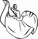 Mexican Dance Coloring Drawing Woman Traditional Performing Sun Ballerina Simple Clipart Draw Print Button Using Case Copy Getdrawings Clipartmag Grab sketch template