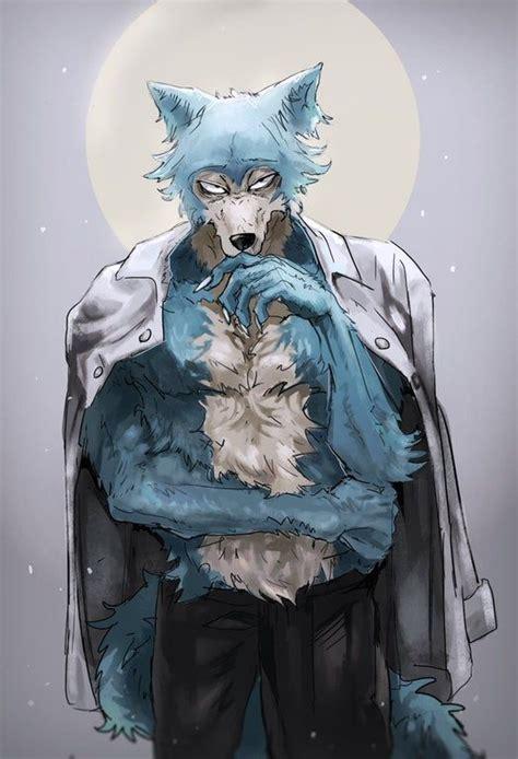 fluffy legosi beastars arte de anime wallpaper
