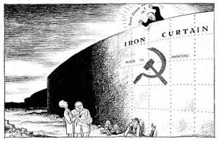 cold war and the iron curtain final review project