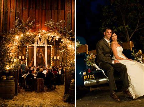 Kara + Seth's Fall Barn Wedding