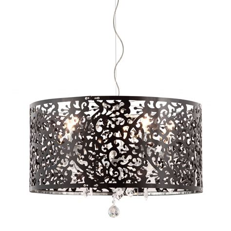 lustre pour chambre adulte nebula ceiling l black see white