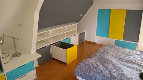 rangement chambre enfants rangements en soupente chambre d enfant brodie agencement
