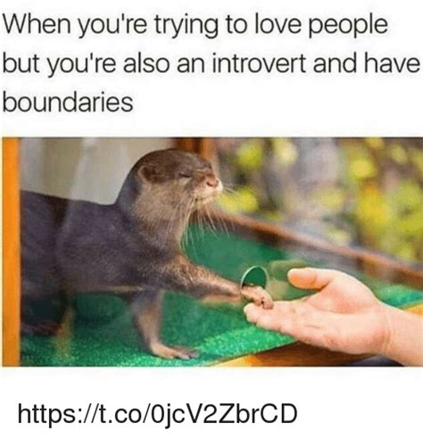 But But Meme - when you re trying to love people but you re also an introvert and have boundaries