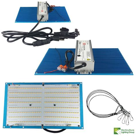 Quantum board grow lights are the next step above chip on a board (cob) led grow lights. Horticulture Lighting Group 100 Watt Quantum Board LED Kit ...