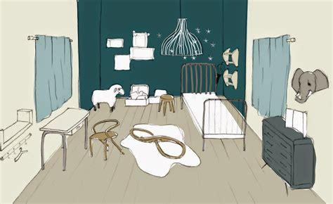 idee couleur chambre garcon paillette baby inspiration pour la chambre de bébé