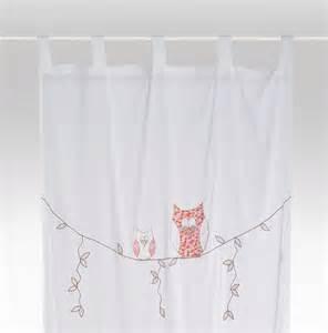 vorhang kinderzimmer gardinen kinderzimmer vorhang eule ein designerstück bambiente bei dawanda