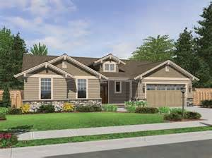 home design articles the avondale craftsman style ranch house plan with accents