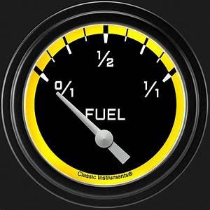 Classic Instruments Store    Autocross Yellow 2 5  8 U0026quot  Fuel