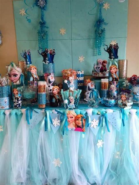 disney frozen table disney frozen birthday party ideas disney birthdays and