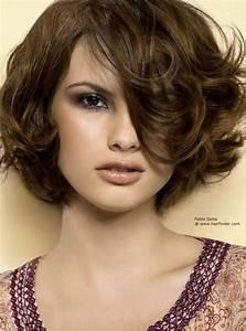 Carré Court Frisé : coupe de cheveux carr court d grad ~ Melissatoandfro.com Idées de Décoration