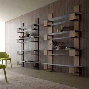 Bibliothèque Murale Contemporaine : infinity meuble biblioth que mural tag res idd ~ Teatrodelosmanantiales.com Idées de Décoration