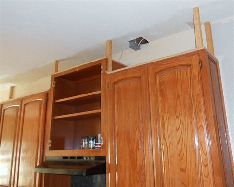 how to make kitchen cabinets project making an upper wall cabinet taller kitchen