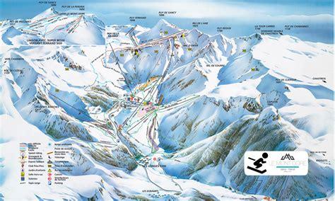 station de ski mont dore plan des pistes 224 besse plan des pistes au mont dore les pistes de ski du mont dore