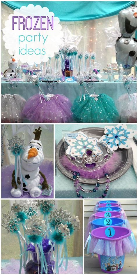frozen party theme pictures   images