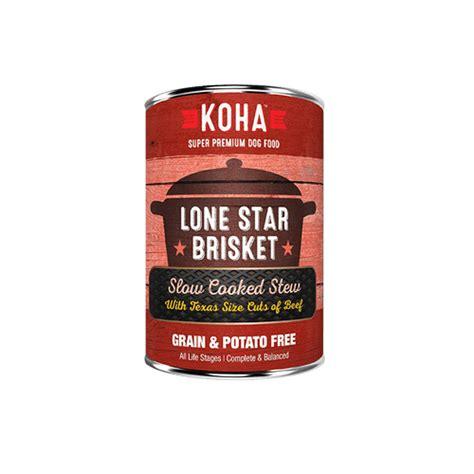 Koha Lone Star Brisket Can - 12.7oz - The Puppy Pantry