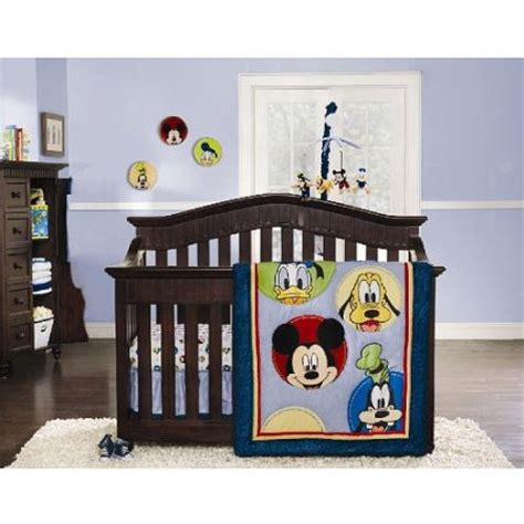 mickey mouse crib set disney mickey mouse and friends crib bedding collection