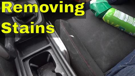 Where Can I Get My Car Upholstery Cleaned by Removing Stains From Car Seats With Upholstery Cleaner