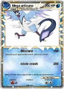Pokémon Mega articuno 4 4 - Blizzard - My Pokemon Card