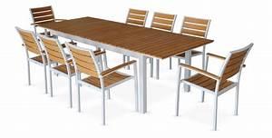 Table Jardin En Bois : table de jardin bois les cabanes de jardin abri de jardin et tobbogan ~ Teatrodelosmanantiales.com Idées de Décoration