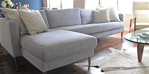 The Secret To Making An Ikea Couch Look Way More Expensive