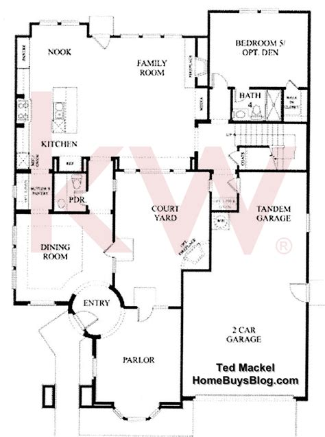 Big Sky Simi Valley Highlands Tract Floor Plans