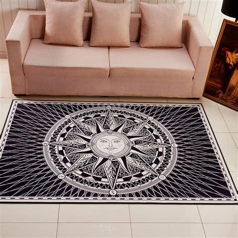 tapis carre pour salon cuisine naturelle