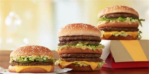 mcdonalds  double big mac   beef patties