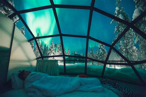 Kakslauttanen Arctic Resort Stay In Glass Igloos In Finland