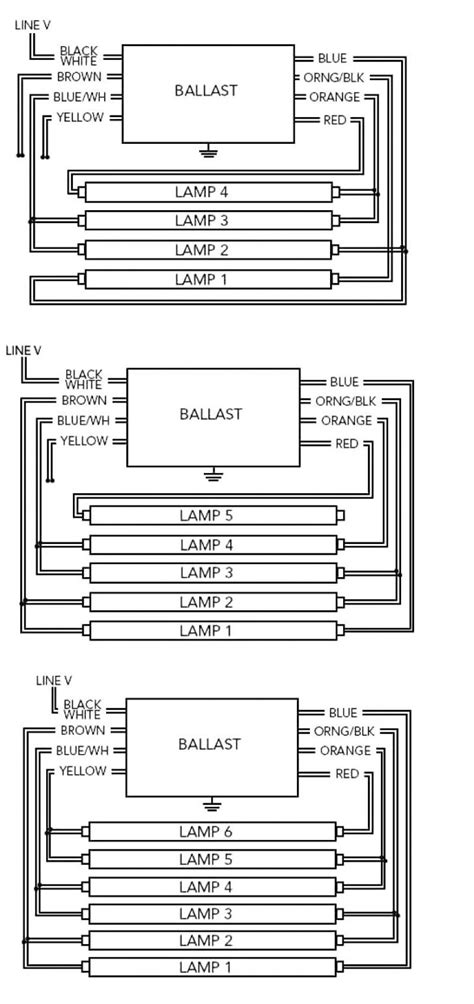 T12 To T8 Wiring Diagram by T12 To T8 Ballast Wiring Auto Electrical Wiring Diagram