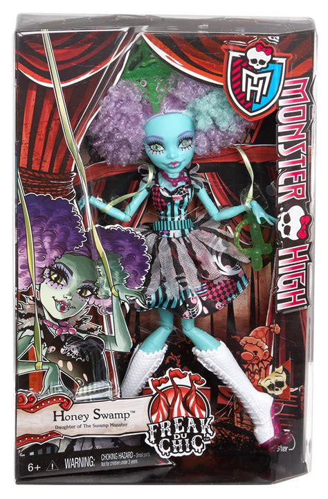Amazon Monster High Freak Chic Honey Swamp Doll
