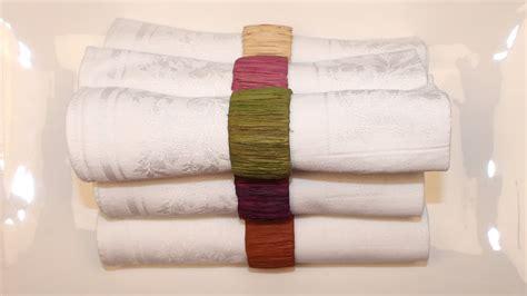 rond de serviette de table faire un rond de serviette en raphia